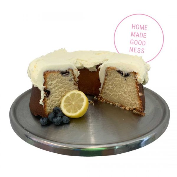Blueberry Lemon Poundcake